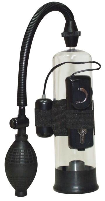 Вакуумная помпа с вибратором