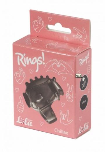 Черная насадка на палец Rings Chillax