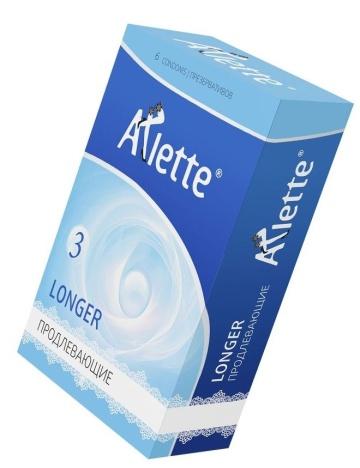 Презервативы Arlette Longer с продлевающим эффектом - 6 шт.