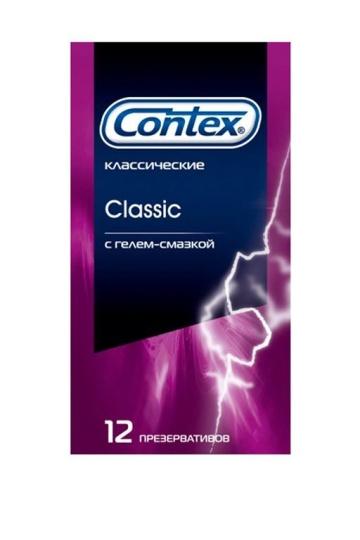 Презервативы CONTEX Classic - 12 шт.