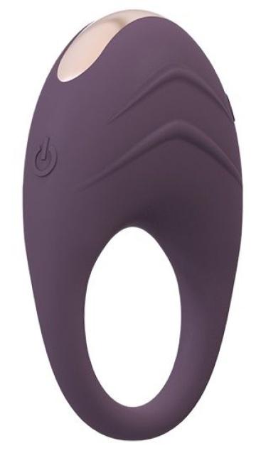 Фиолетовое эрекционное виброкольцо AVETA