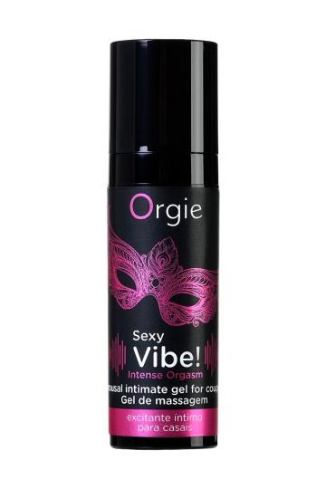 Гель для массажа ORGIE Sexy Vibe Intense Orgasm - 15 мл.
