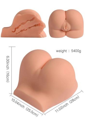 Телесная вагина с двумя отверстиями