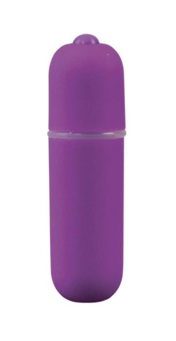 Фиолетовая вибропуля Power Bullet - 6,2 см.