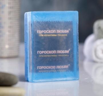 """Мыло """"Экстренная помощь"""" с презервативом внутри - 105 гр."""