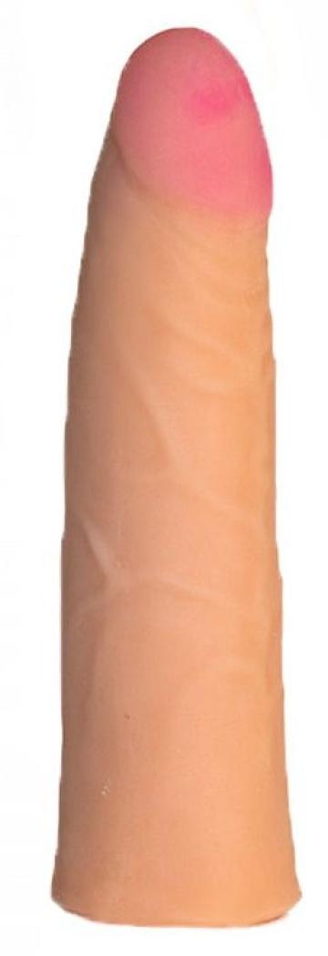 Трусики Harness с реалистичной насадкой-фаллосом №68 - 18 см.