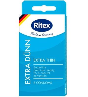 Ультратонкие презервативы RITEX EXTRA DUNN - 8 шт.