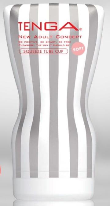 Мастурбатор TENGA Squeeze Tube Cup Soft