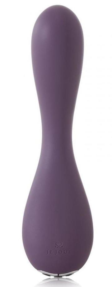 Фиолетовый вибратор Uma G-spot Vibrator - 17,8 см.
