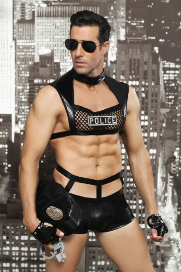 Мужской игровой костюм полицейского Davis
