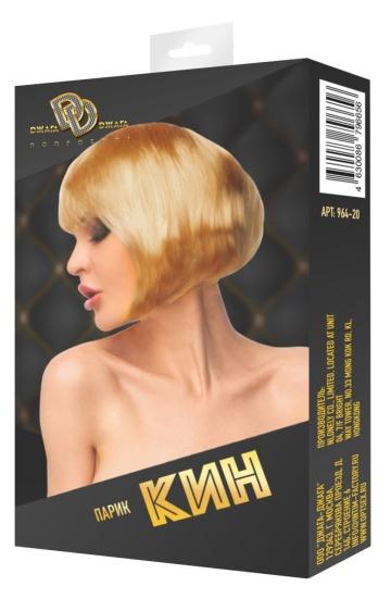 """Золотистый парик """"Кин"""""""