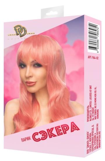 """Розовый парик """"Сэкера"""""""
