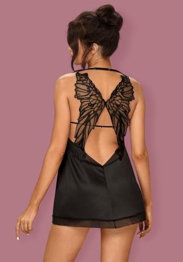 Эффектная сорочка Alifini с крыльями на спинке