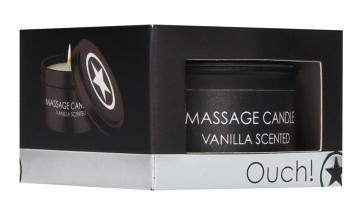 Массажная свеча с ароматом ванили Massage Candle