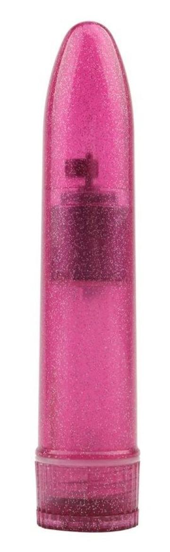 Розовый мини-вибратор Slim Mini Vibe - 13,2 см.