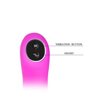 Вибромассажер для пар Indulgence с дистанционным управлением