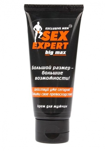 Крем для мужчин BIG MAX серии Sex Expert - 50 гр.