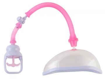 Помпа для клитора с удобным рычажком для откачки воздуха