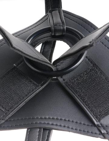 Страпон Harness со съемной телесной насадкой King Cock 9 - 22,9 см.