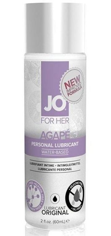 Лубрикант на водной основе для женщин JO AGAPE LUBRICANT ORIGINAL - 60 мл.