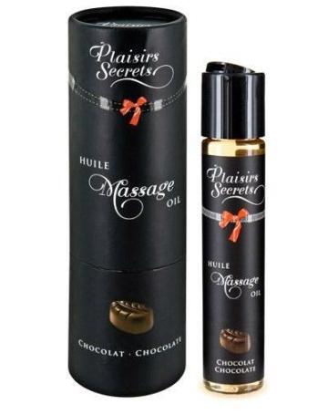 Массажное масло с ароматом шоколада Huile de Massage Gourmande Chocolat - 59 мл.