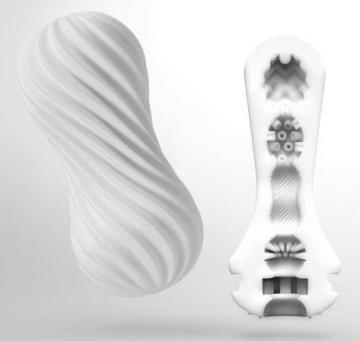 Мастурбатор FLEX Silky White с мягким рельефом