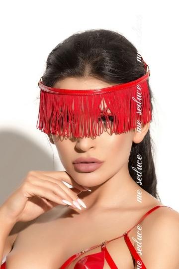 Украшение на голову Queen of hearts с длинной бахромой