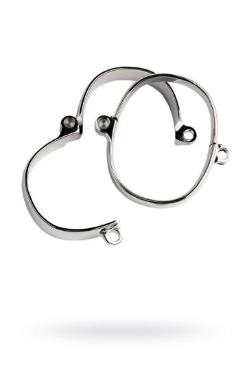 Металлические наручники с навесным замочком