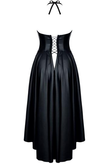 Длинное платье c открытой грудью Christine