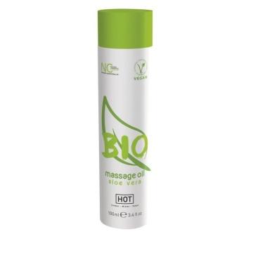 Массажное масло BIO Massage oil aloe vera с ароматом алоэ - 100 мл.