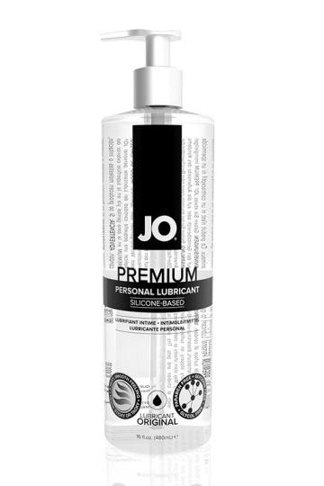 Нейтральный лубрикант на силиконовой основе JO Personal Premium Lubricant - 480 мл.