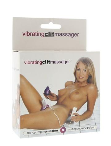 Вакуумный стимулятор клитора Vibrating Clit Massager